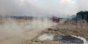 Yangın Lefkoşa'yı elektriksiz bıraktı