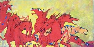 YDÜ'de Kazakistan Sanatçıları Sergisi
