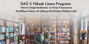 DAÜ Yüksek Lisans Programları yine Rüstem'de