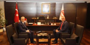 Amcaoğlu'nun Ankara'daki temasları sürüyor