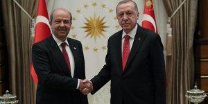 Erdoğan, Başbakan Tatar ile görüştü