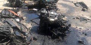 Kaçak motorlar polis aramasına takıldı…2 kişi tutuklandı