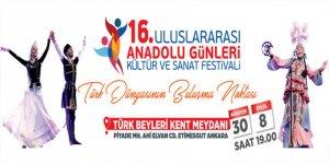 Kültür Derneği, Anadolu Günleri Kültür ve Sanat Festivali'ne katılacak