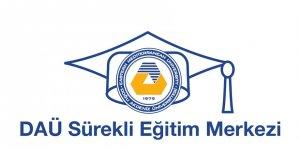 DAÜ Sürekli Eğitim Merkezi, kampüs dışında da eğitimlerine devam ediyor