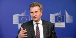 Oettinger, Kıbrıs'ta temaslarda bulunacak