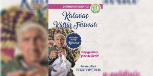 Kalavaç Kültür Festivali, 15 Eylül'de