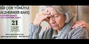 """""""Birçok Yönüyle Alzheimer'a Bakış"""" paneli düzenleniyor"""