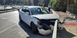 Ciklos'ta kaza, 1 hafif yaralı