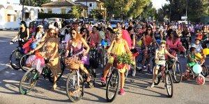 Süslü Kadınlar Bisiklet Turu yapıldı…