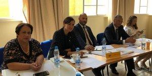 Siyasi partiler Ledra Palas'ta bir araya geldi