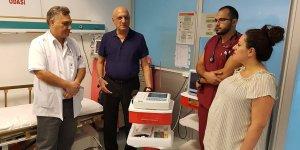 Hastaneye anlamlı bağış