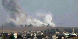 Kuzey Suriye havadan ve karadan vuruluyor