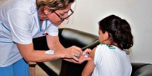 HPV aşısının ikinci dozu yapıldı
