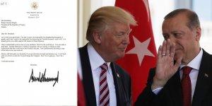 Trump'tan Erdoğan'a o mektup deşifre oldu