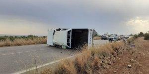 Karpaz yolunda iki kaza