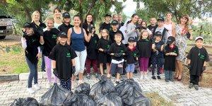 İyilik Gönüllüleri çevre temizliği etkinliği yaptı