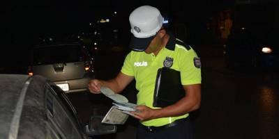Sokağa çıkma yasağı trafiğe olumlu yansıdı