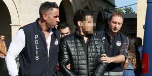 Girne'de polisi darp