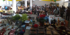 Lefke Hurma Festivali'ne yoğun ilgi…