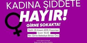 Girne'de kadına şiddete yönelik yürüyüş düzenleniyor