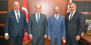 Başkanlar bir araya geldi…