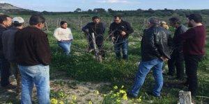 Tarım Dairesi'nin eğitim çalışmaları Büyükkonuk'ta devam edecek