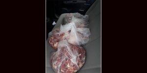 60 kilo kaçak et