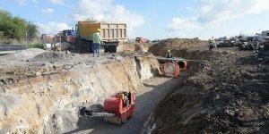 Lefkoşa'da kanalizasyon çalışmaları sürüyor
