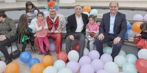 Değirmenlik Belediyesi'nden çocuklar için yeni yıl etkinliği