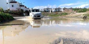 'Villalar' kavşağında altyapı sefaleti