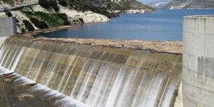 Kuri barajı taştı