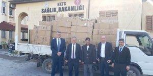 Sağlık Bakanlığı'na 50 adet tekerlekli sandalye bağışı yapıldı
