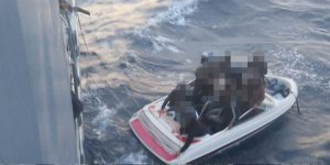 Akdeniz açıklarında 12 mülteci
