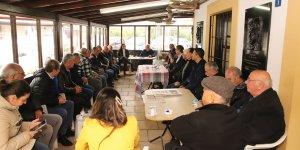 Erhürman'dan, Sönmezliler Ocağı ve Küçük Kaymaklı Kulübü'ne ziyaret