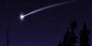 'Gökyüzünde ateş topu'