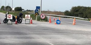 Güvercinlik kavşağı ilerisindeki yol trafiğe açıldı