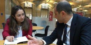 Özersay, Birleşik Krallık Parlamentosu'nda görüşmeler yaptı