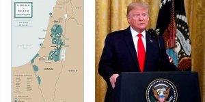 Trump yeni İsrail haritası paylaştı