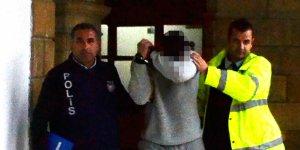 Gaziköy'de hırsızlık... Eve girerken yakalandı
