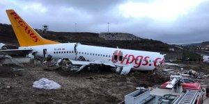 Uçağın enkazı kaldırılıyor