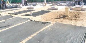 Tekke Bahçesi'ndeki mezarlar açılıyor