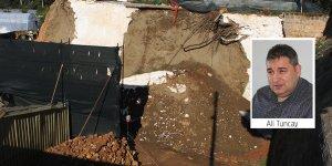 400 yıllık surlar çökme tehlikesi altında