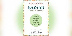 """""""Crafts and Vintage Bazaar"""" Girne'de gerçekleşiyor"""