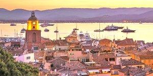 Fransa'nın en zengin ve güzel kasabası St. Tropez