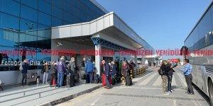 6 uçuşla toplam 840 yolcu Avrupa'ya taşınacak