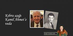Kıbrıs aşığı Kamil Ahmet'e veda