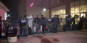 Türkiye'ye giden 314 kişi yurtlara yerleştirildi