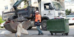 Lefkoşa'da temizlik çalışmaları sürüyor