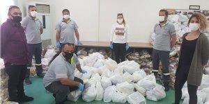 Değirmenlik Belediyesi, 'Dayanışma Mutfağı' için yardım toplamaya devam ediyor
