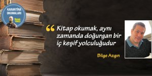 """""""Kitap okumak, aynı zamanda doğurgan bir iç keş"""